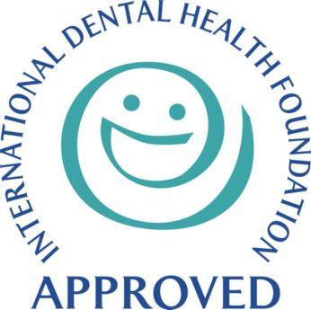 Este producto está aprobado por la Fundación Internacional de Salud Dental