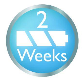 Зарядка через две недели
