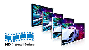 HD Natural Motion for ultra-smooth motion in Full HD movies