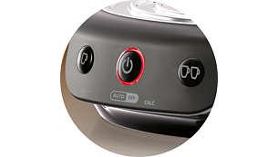 Funzionamento tramite pulsante unico: controllo totale con un solo pulsante