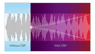 Digital Sound Processing for lifelike, distortion-less music