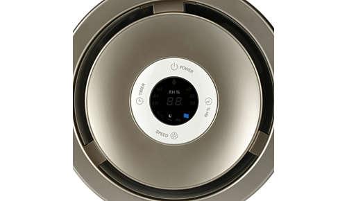 Elige entre humidificación silenciosa, estándar y automática