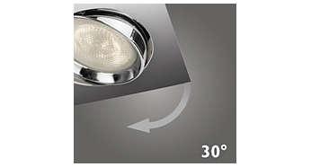 Reflektorska svjetiljka s prilagodljivom glavom