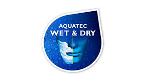 100% waterproof for use in the shower and easy cleaning