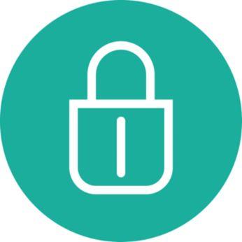 Функция за блокиране на бутона, за да се избегне непреднамерено включване