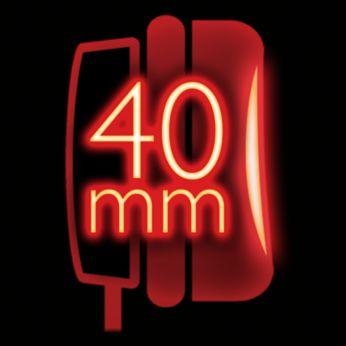 Мощные 40-мм излучатели потрясают взрывными басами