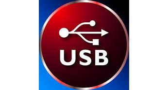 Carregamento via USB