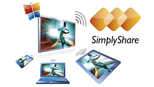 SimplyShare para conectar y transmitir multimedia de forma inalámbrica