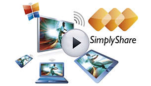 SimplyShare to connect & stream all entertainment wirelessly