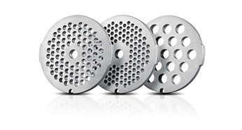 3 δίσκοι τριψίματος από ανοξείδωτο ατσάλι, για καλύτερη υγιεινή (3, 5, 8 χιλ.)