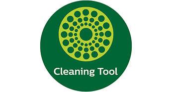 Innovatief dubbelzijdig schoonmaakhulpmiddel