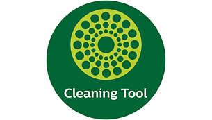 Инновационный 2-сторонний аксессуар для очистки