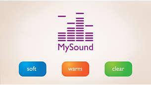 """Профили """"Мой звук"""" для индивидуальной настройки звука"""