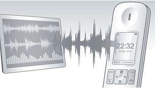 Pruebas avanzadas de sonido y ajuste exacto para una calidad de voz superior