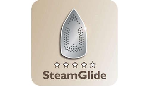 De nieuwe SteamGlide-zoolplaat is topkwaliteit van Philips