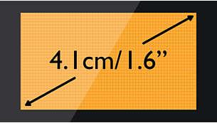 "Pantalla de matriz de puntos de lectura fácil, 4,1cm (1,6"")"