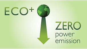 Ingen sändningsenergi när läget ECO+ är aktiverat