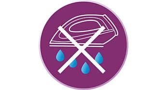 Hệ thống ngăn rỉ giọt giữ cho vải không bị đốm trong khi ủi