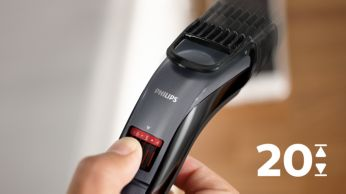 Easy to select and lock-in length settings, 0.5mm to 10mm