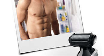 BodyGroom smoothly trims and shaves any area of your body