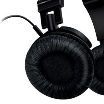 Justerbara öronsnäckor och huvudband som passar alla huvuden