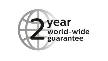 Garantía de 2años, voltaje universal y cuchillas reemplazables