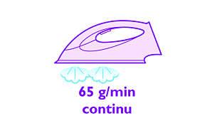 Непрекъсната мощна пара до 65 г/мин