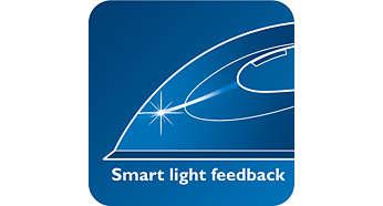 Calcă cu indicatorul de feedback cu lumină inteligentă