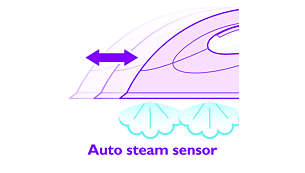Auto Steam Sensor activates the steam automatically