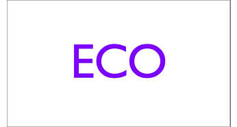 ECO setting for efficient ironing