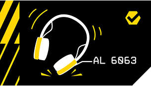 Gancho de metal alrededor del canal auditivo para proteger el controlador