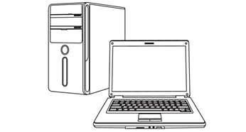 Verbindet Ihren PicoPix Taschenprojektor mit Ihrem PC