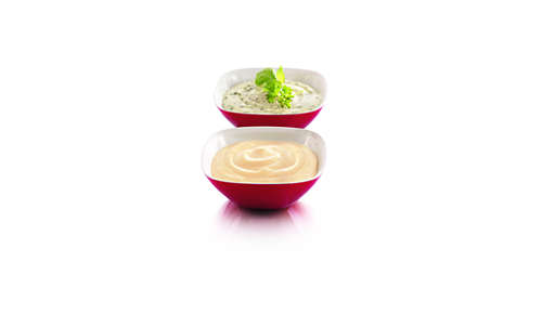 Ideal for dips, sauces and soups