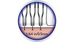 Hypo-allergenic discs assure an optimal hygiene