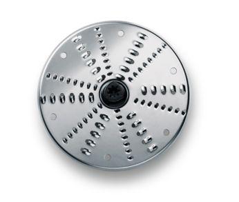 Reversible disc for shredding (fine and coarse)