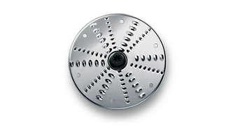 Disco reversível para triturar (pedaços finos e grossos)
