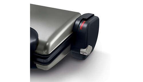 Verstellbarer Thermostat für die perfekte Zubereitung jeder Art von Grillgut