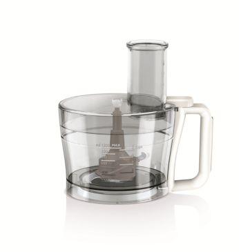 Поскольку нет внутреннего шнека, содержимое не разбрызгивается из центра чаши