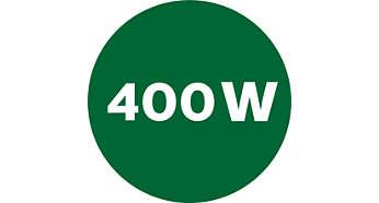 Leistungsstarker 400 Watt-Motor