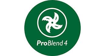 Cuchilla de 4hojas ProBlend para batir y mezclar de forma eficaz