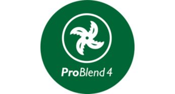 ProBlend 4 star blade for effective blending and mixing