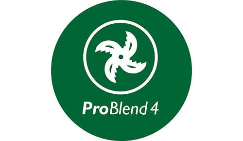 ProBlend 4-Sterne-Messer zum effektiven Mixen und Pürieren