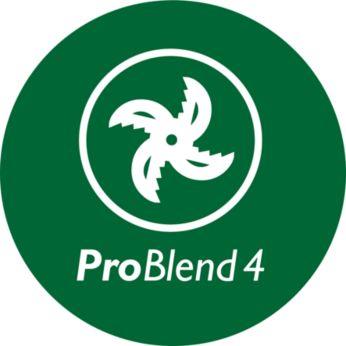 Lamă de 4 stele ProBlend pentru amestecare eficientă