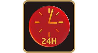 User friendly 24-hour preset function