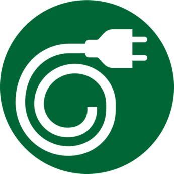 Rangement pour cordon d'alimentation intégré