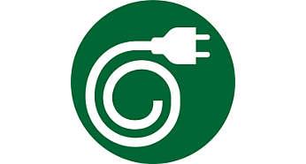 Armazenamento do cabo de energia