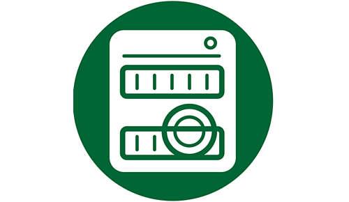 Cuve antiadhésive compatible lave-vaisselle