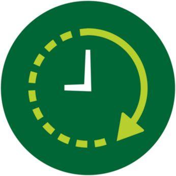 24 val. išankstinio nustatymo laikmatis užtikrina, kad valgiai bus paruošti laiku