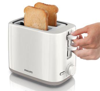 Caracteristică de ridicare înaltă pentru a scoate cu uşurinţă bucăţile mici de pâine