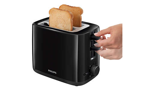 High lift feature to easily remove small pieces of bread